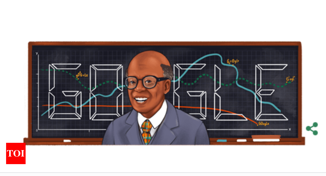 Sir W Arthur Lewis: Google celebrates noted economist, professor Sir W Arthur Lewis with a doodle   International Business News – Times of India