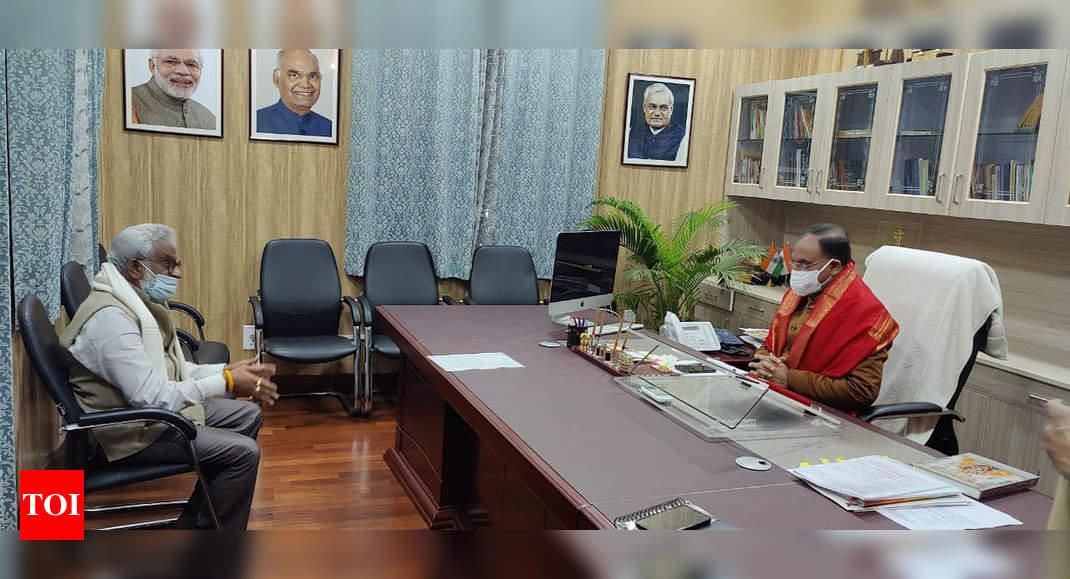 """Declare SV Vedic university as national vedic university"", TTD chairman appeals to union edu ministry"