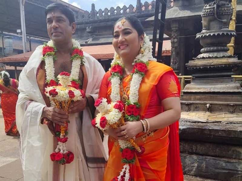 Actress Yamuna found love for the second time; got married to US-based psychotherapist Devan Ayyankeril