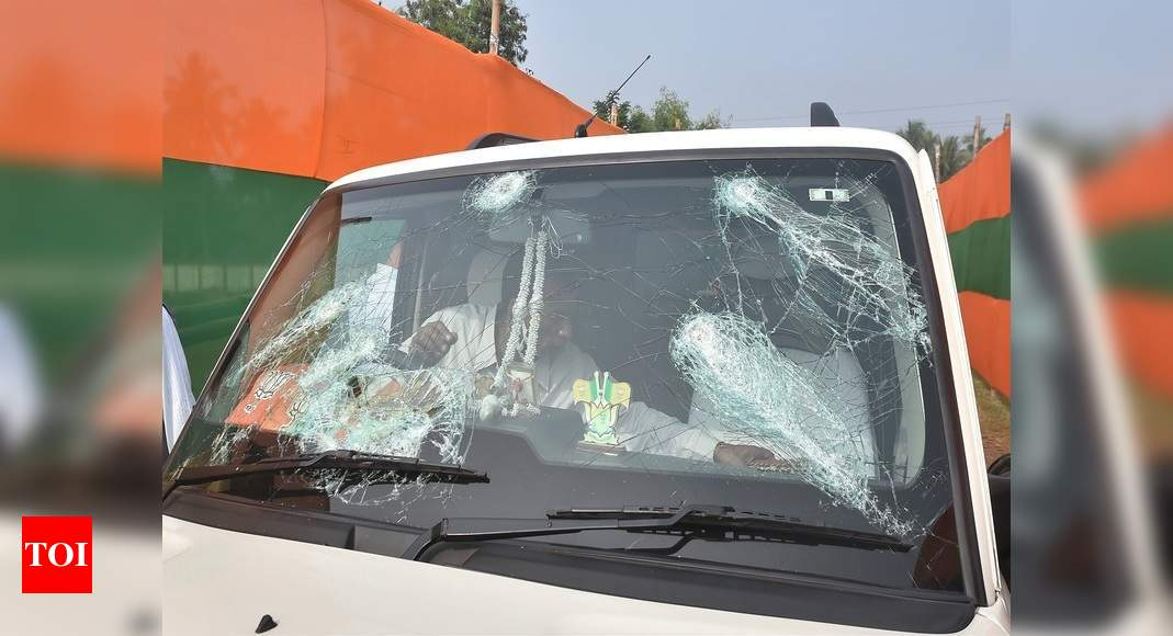 Attack on Nadda's convoy: Top Bengal officers, summoned by MHA, not to visit Delhi - Times of India