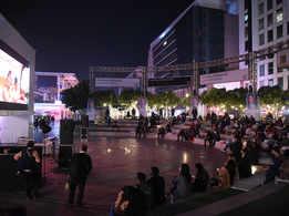 #CoronaTimes: Maintaining precautions, actors, filmmakers attend open-air film fest in Gurgaon