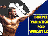 5 Burpee variations for weight loss