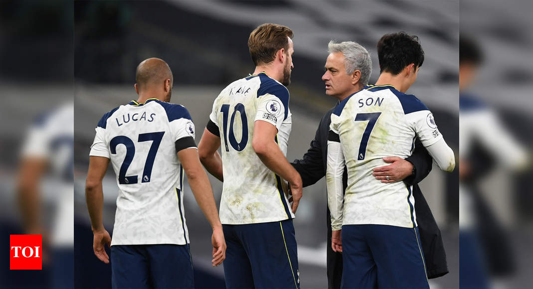 mourinho-warns-tabletopping-spurs-as-tough-christmas-schedule-looms-football-news-times-of-india