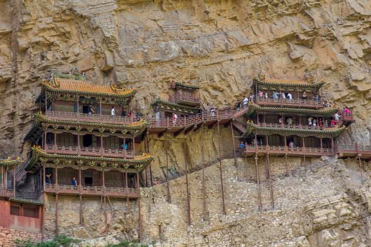 China's Hanging Temple