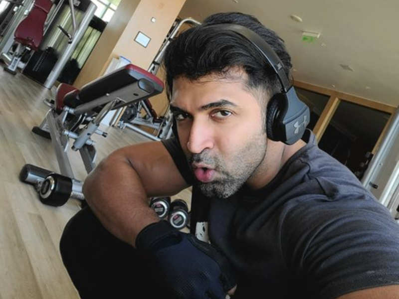Arun Vijay hits the gym before long day of shoot