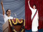 Kangana announces the wrap of 'Thalaivi'
