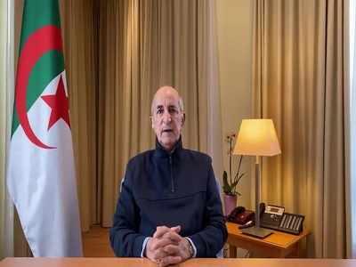 Algeria president makes first appearance since hospitalisation
