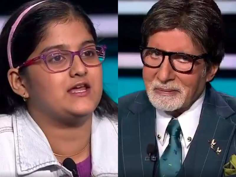 Kaun Banega Crorepati 12 Student Special: This girl tells Amitabh Bachchan she decided not to be an engineer after watching 3 Idiots