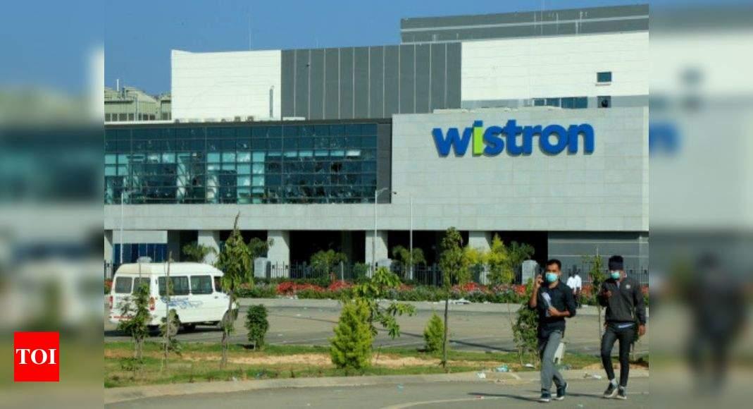 Apple launches probe into Narasapura's Wistron violence   Bengaluru News – Times of India