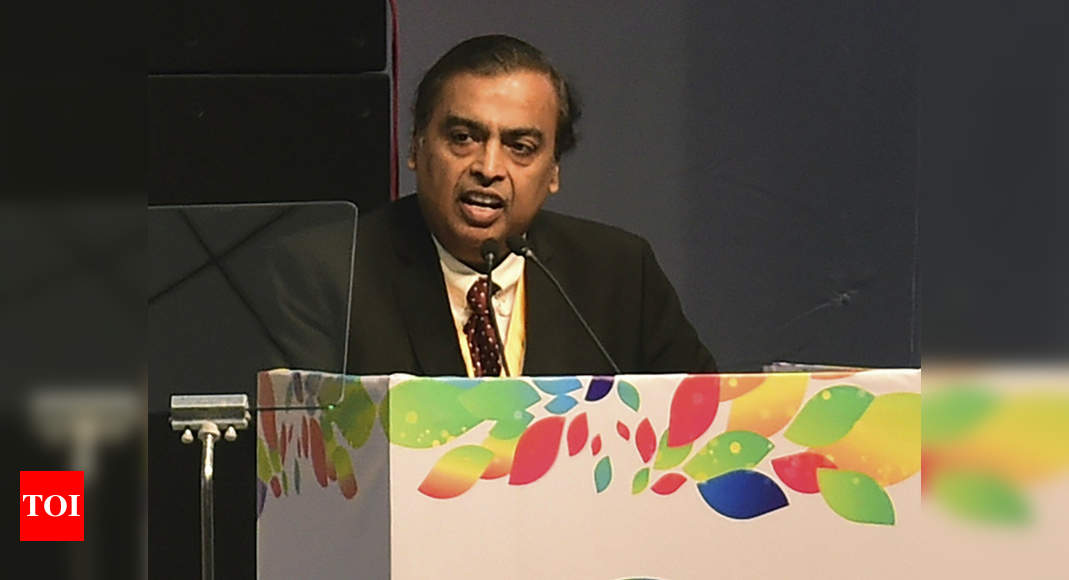 India will grow to be among top 3 economies in two decades: Mukesh Ambani – Times of India