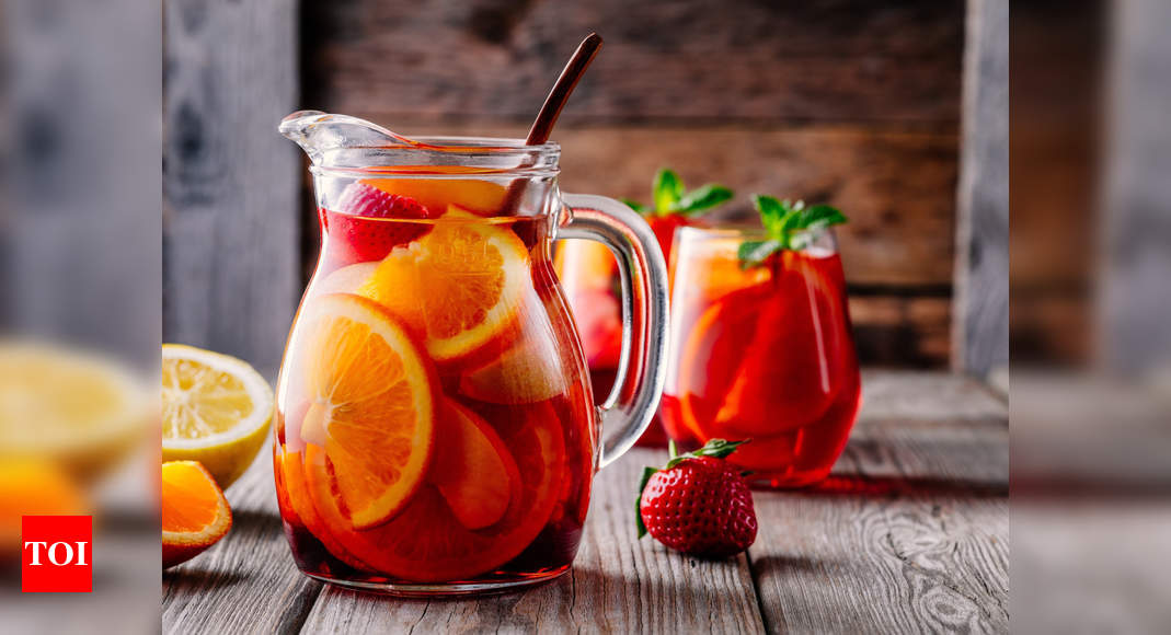 How to make the classic Red Wine Sangria at home – Times of India