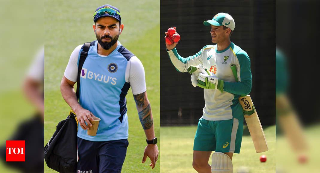 India vs Australia: Kohli finds sledging 'pointless' but Paine won't take 'backward step' if things heat - Times of India
