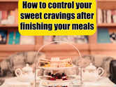 How to control sugar cravings after finishing every meal