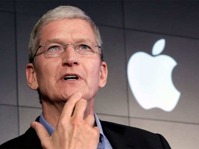 Apple CEO Tim Cook (File photo)