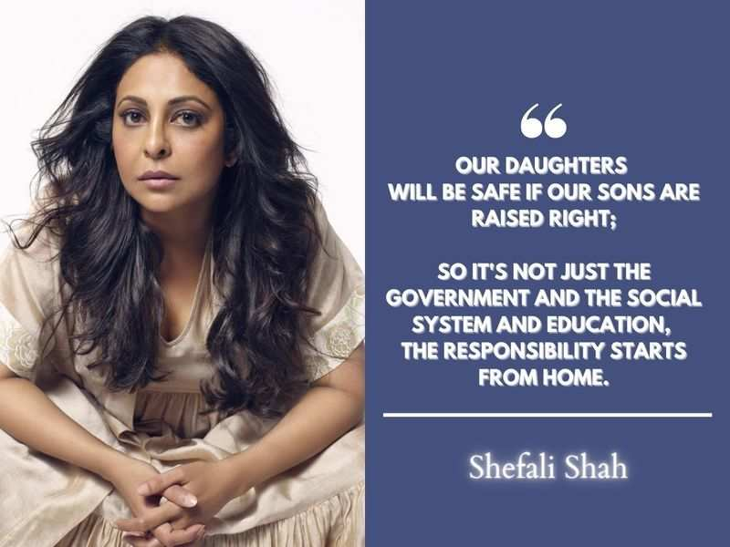 Exclusive! Shefali Shah: There were years where I kept saying no to work because it was just being so unfair being typecast