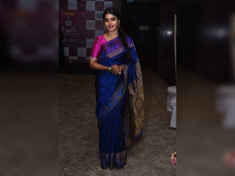 Sanchita Shetty looks elegant at The Luxury Affair event at ITC Grand Chola