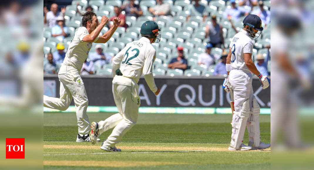 Massacre In Adelaide India Record Their Lowest Test Score Cricket News Times Of India