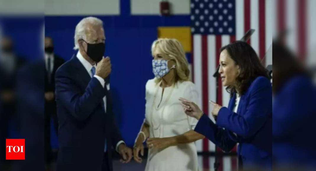 Joe Biden, wife to receive Pfizer Covid-19 vaccine on Monday – Times of India