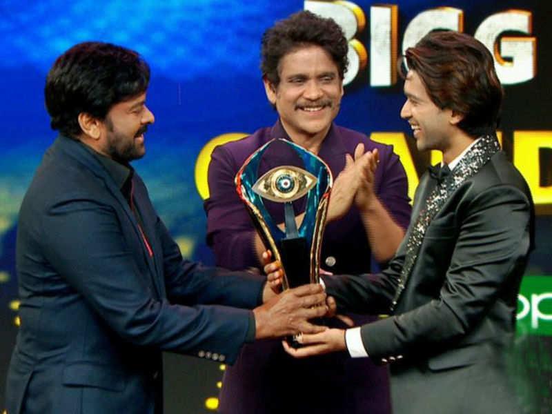 Bigg Boss Telugu 4 winner: Actor Abhijeet Duddala wins the trophy - Times of India