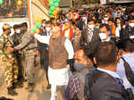 Amit Shah holds mega roadshow in West Bengal