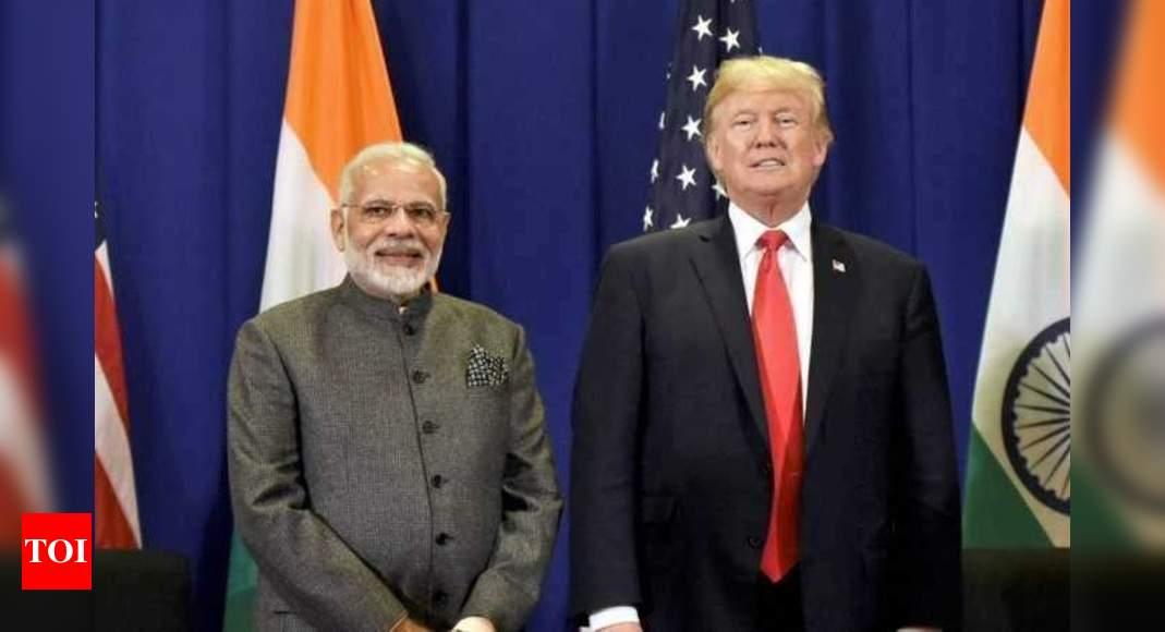 Trump confers Legion of Merit on PM Modi – Times of India