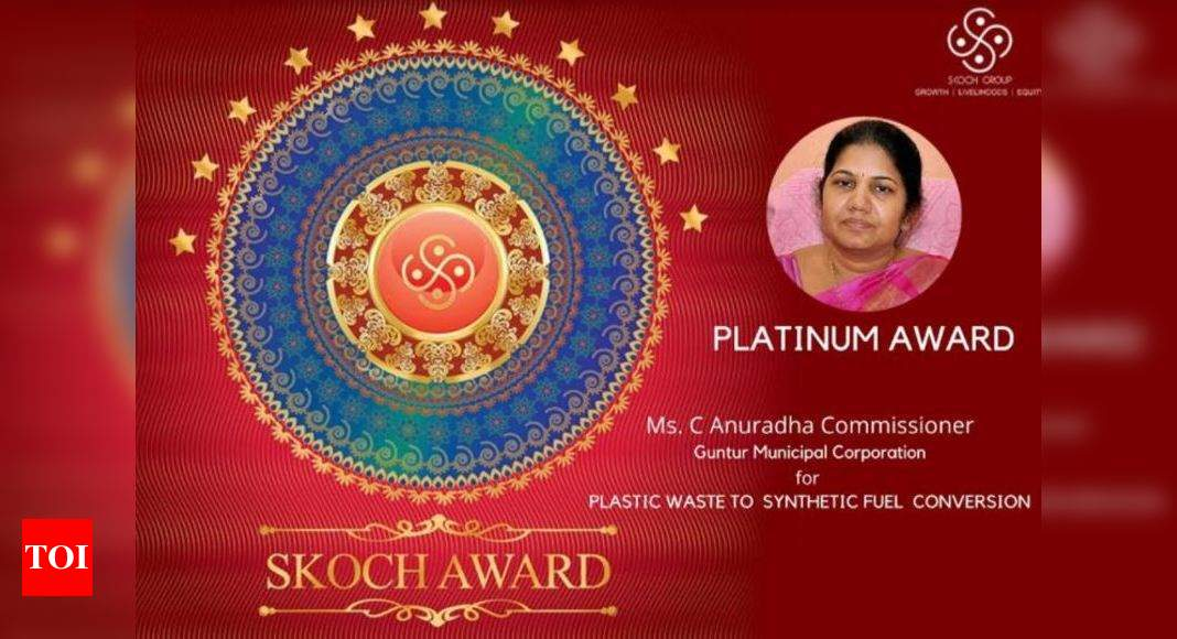 GMC bags prestigious Skoch platinum award   Visakhapatnam News - Times of India