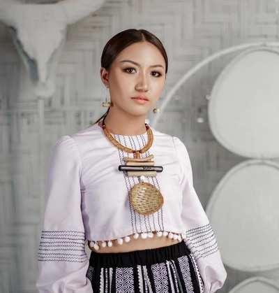 VLCC Femina Miss India Mizoram 2020 Lalmuansangi Varte
