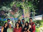 Candid pictures from Navya Naveli Nanda's Christmas celebration