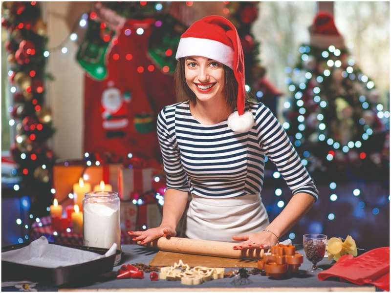 Prepare a traditional feast for Christmas