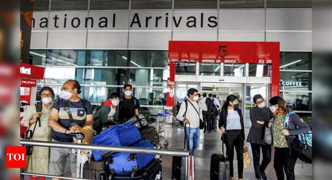 States on alert as 18 more UK flyers test positive |  India News – Times of India