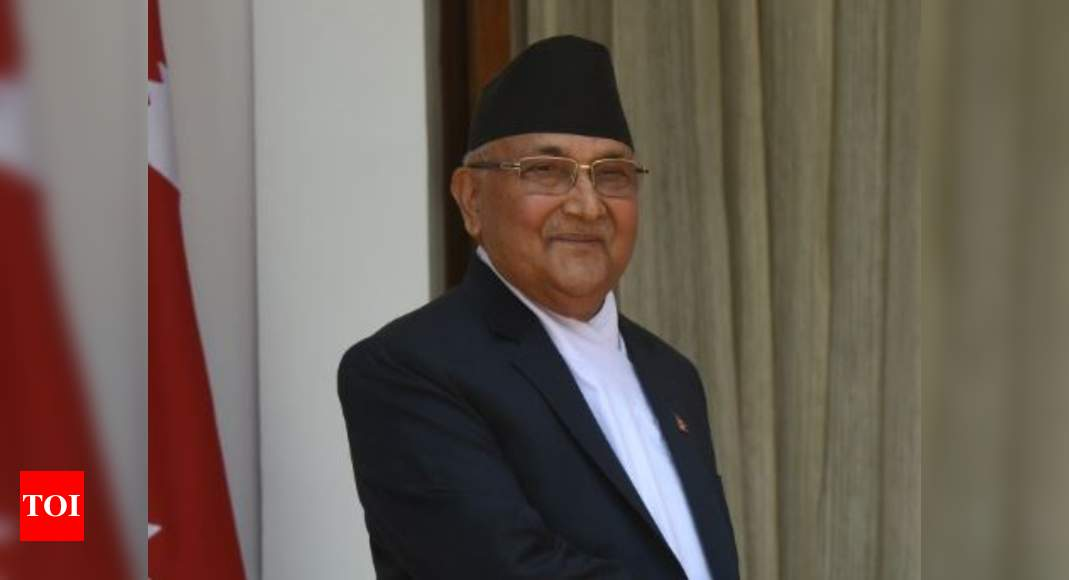 Image of article 'Constitutional bench to hear petitions challenging Nepal PM Oli's move to dissolve Parliament'