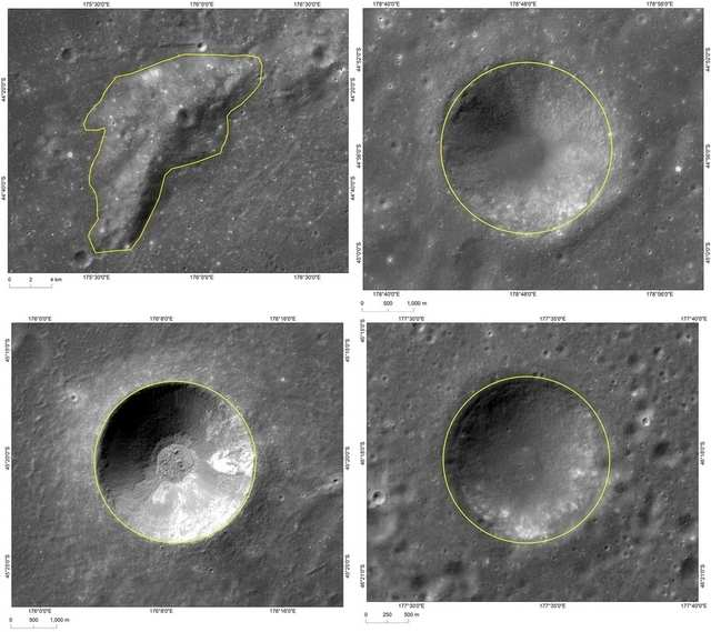 Researchers identify over 109,000 unrecognized impact craters on moon