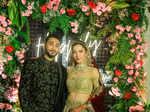 Gauahar Khan and Zaid Darbar's starry wedding reception