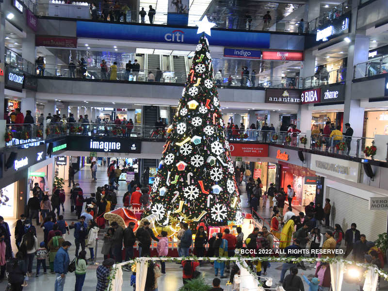 NCR's mals have seen a rise in footfall around Christmas time