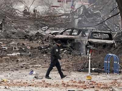 Suspect in Nashville explosion died in blast