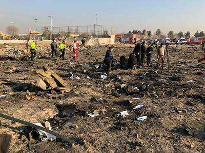 Iran Administration Approves Compensation for Families of Ukrainian Plane Victims