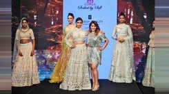 Zarine Manchanda walks for Soshai by Sofi show at the Bombay Times Fashion Week