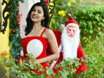 Actress Anju Kurian's Christmas photoshoot