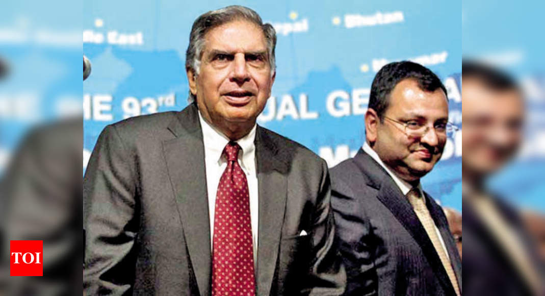 Tata-Mistry row: Tax tribunal suo moto junks negative remarks on Mistry – Times of India