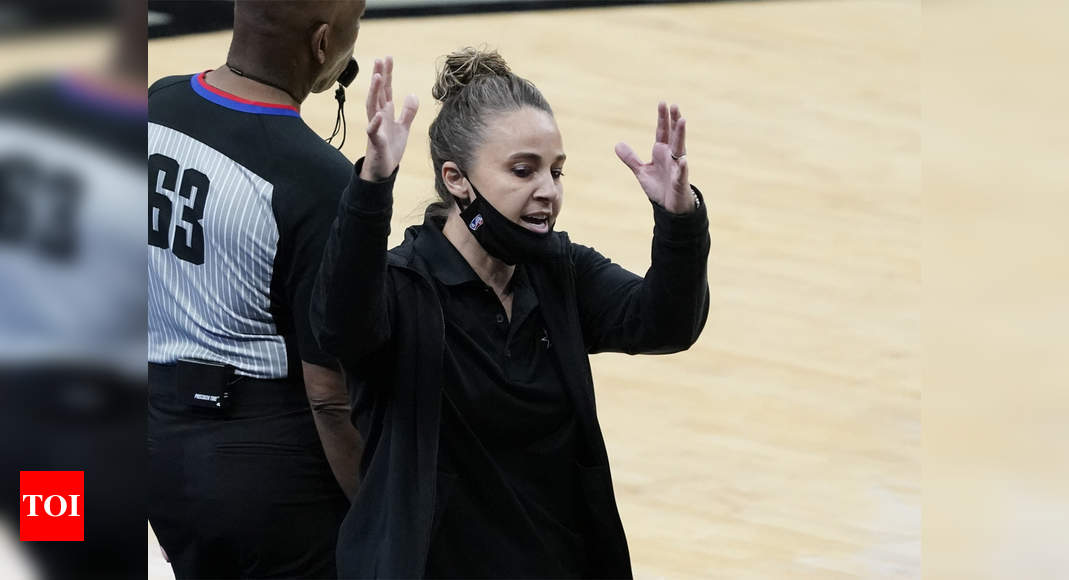 Becky Hammon becomes first woman to serve as NBA head coach | More sports News – Times of India