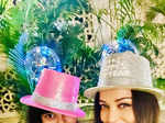 Fun-filled pictures from Amitabh Bachchan's New Year celebrations