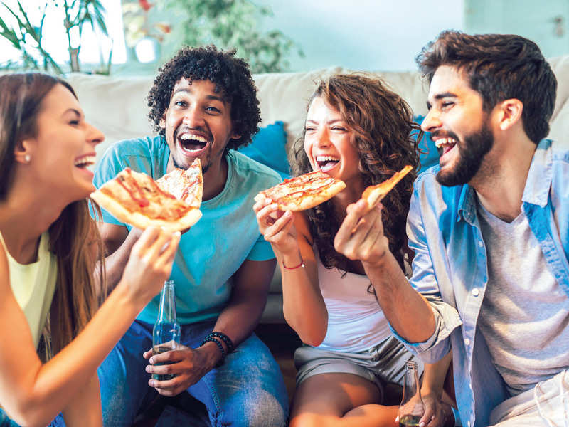 India's love for biryani and pizza only seems to grow by the day as even during the New Year's Eve, many chose these two dishes above all