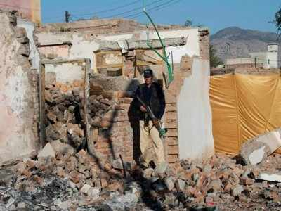 India lodges strong protest with Pakistan over demolition of temple