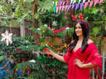 Adah Sharma hosts a Christmas party for rescued chickens