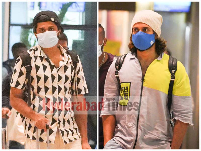 Spotted: Vijay Deverakonda and Anand Deverakonda return from their Goa vacay