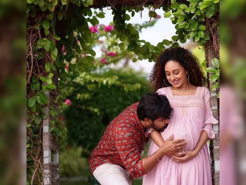 Pearle Maaney: Pearle Maaney: The baby is on full-on jumping mode now - Times of India