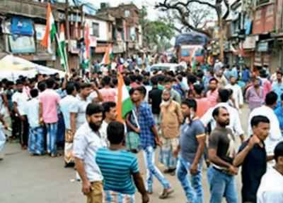 Bengal: 1 dead, another wrist severed in TMC-BJP clashes | India News