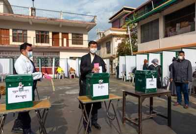 Tibetans in exile vote in India for their political leader | India News