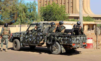 At least 70 killed in attacks on two Niger villages: security source