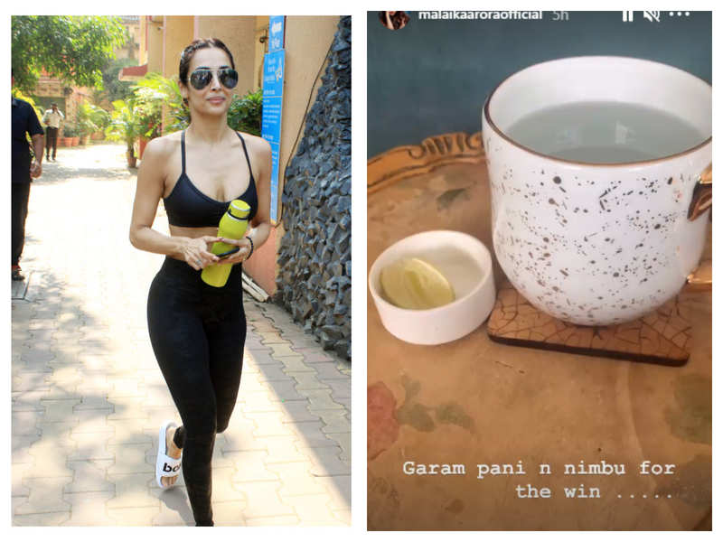 This common, age-old weight loss drink is Malaika Arora's fitness secret